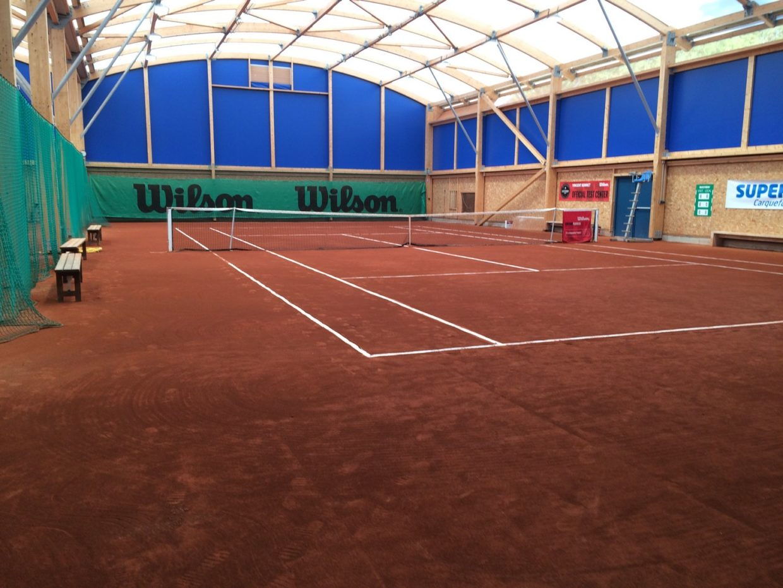 Moulin Boisseau halle de tennis